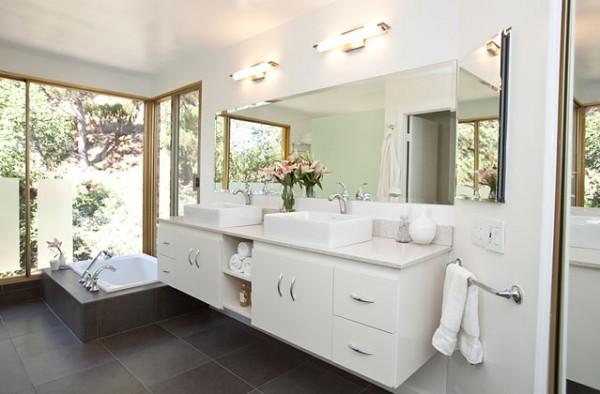 Retro Modern Bathroom Ideas :