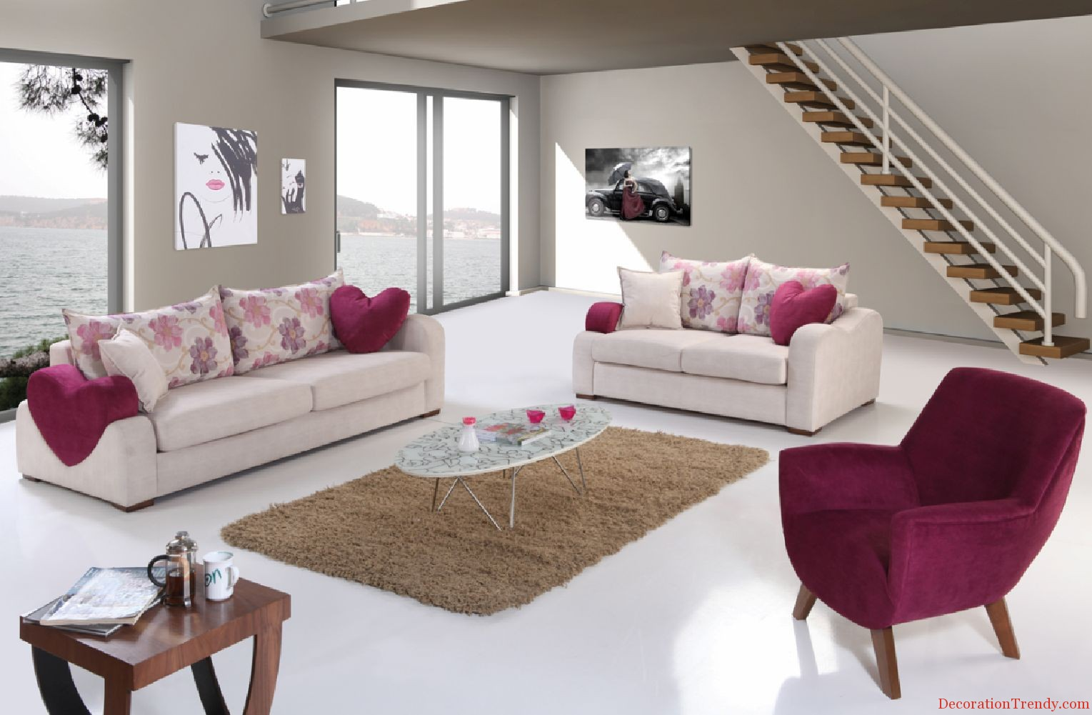 - Home decoratie moderne leven ...