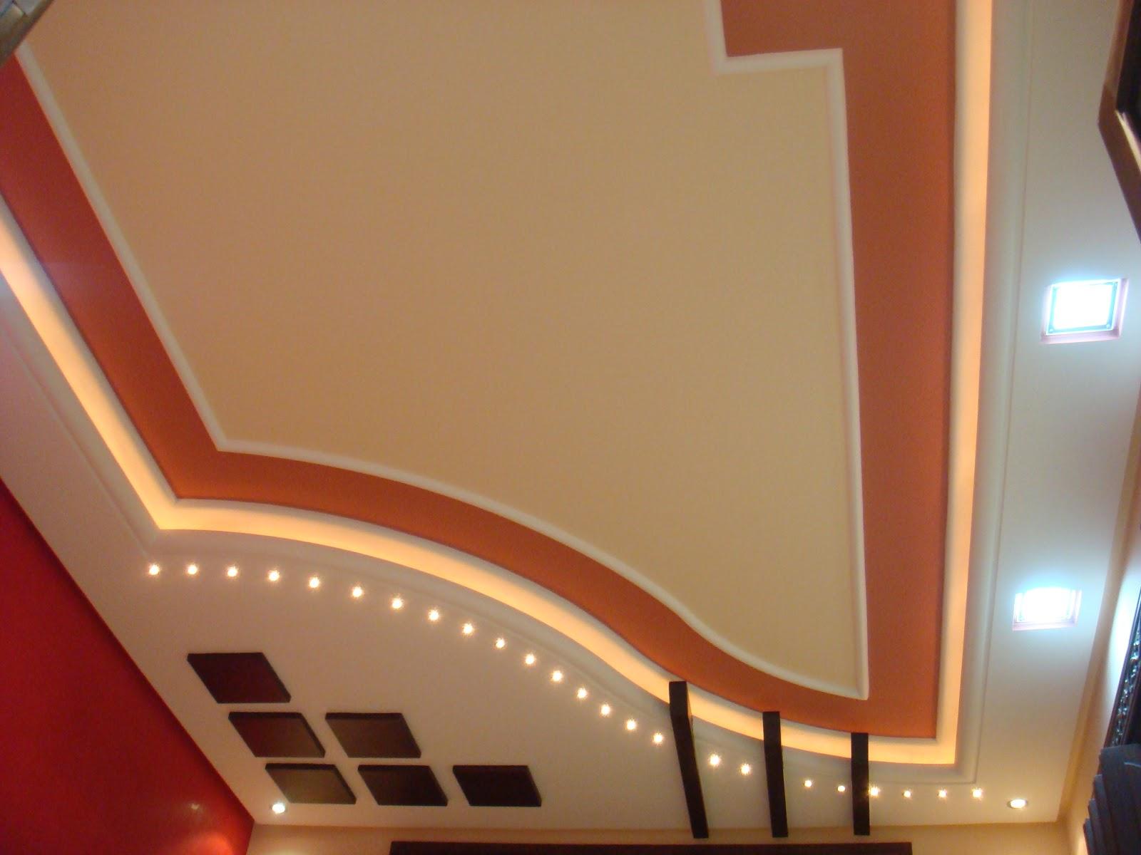 2017 - Decoration platre couloir ...
