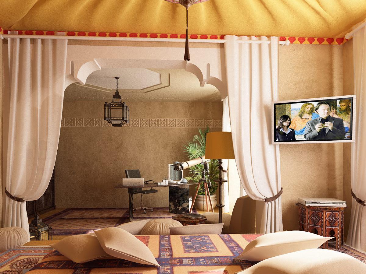 ديكورات غرف نوم 2017 خليجية ومغربية مودرن سوبر كايرو