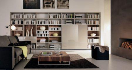 2017 - Librerias salon modernas ...