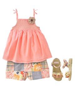 ازياء قطنية للاطفال 2015 ملابس