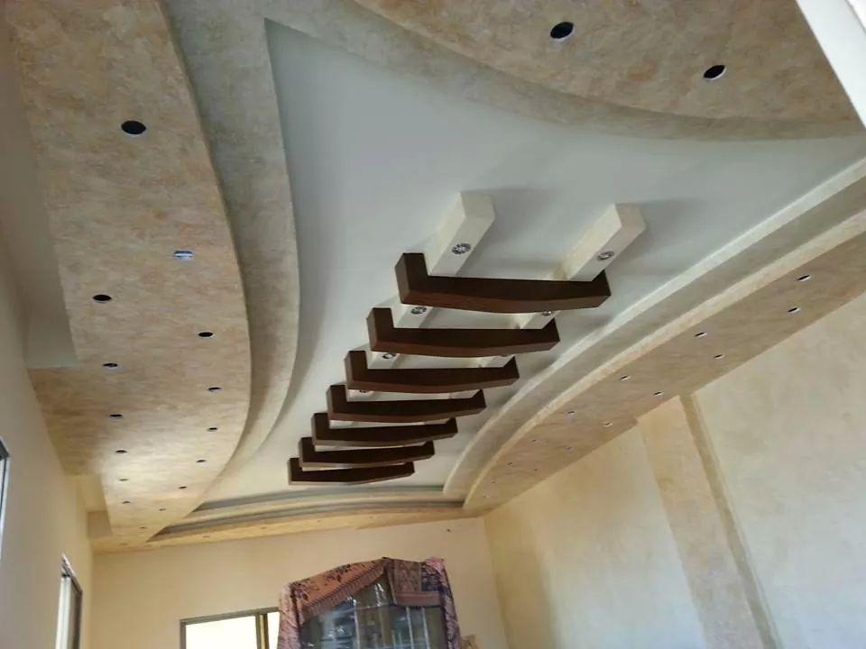 اسقف شقق وفلل بالصور ديكورات الأسقف (35)