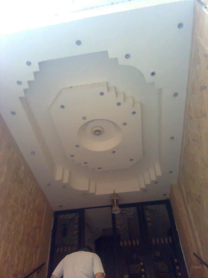 صور ديكورات اسقف معلقة 2015 جبس (2)