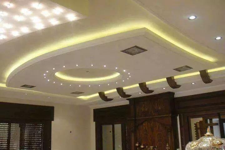 صور ديكورات اسقف from supercairo.com