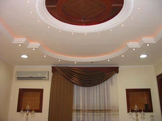 صور ديكورات اسقف معلقة 2015 جبس (55)