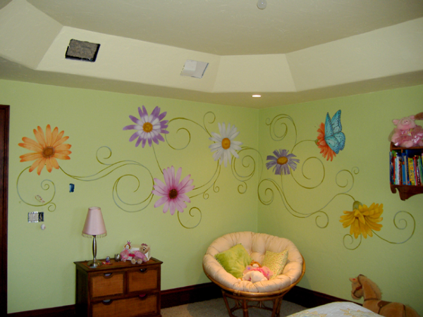 صور رسومات حوائط وورق حائط والوان حوائط جديدة (1)