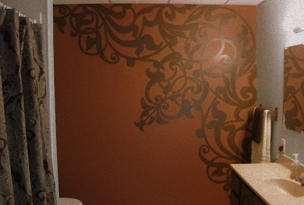 صور رسومات حوائط وورق حائط والوان حوائط جديدة (12)