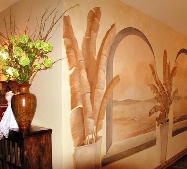 صور رسومات حوائط وورق حائط والوان حوائط جديدة (31)