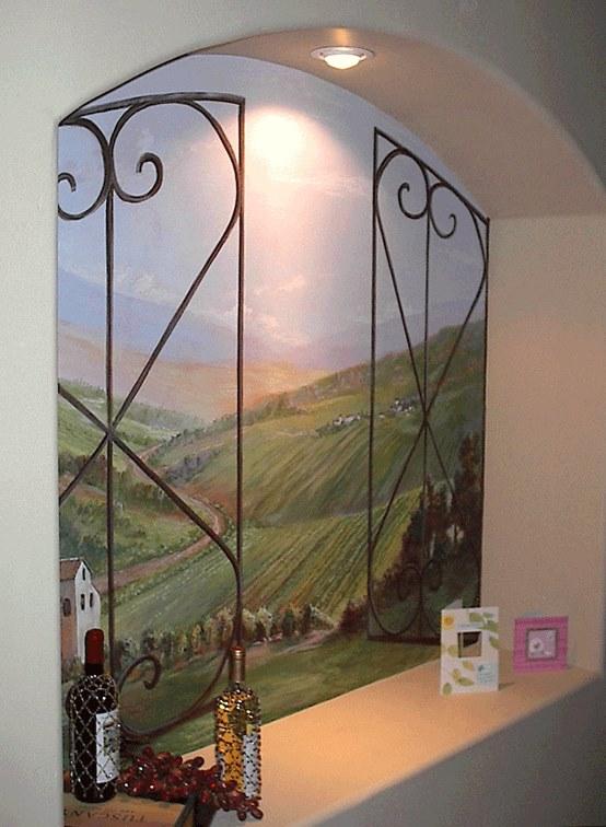 صور رسومات حوائط وورق حائط والوان حوائط جديدة (63)