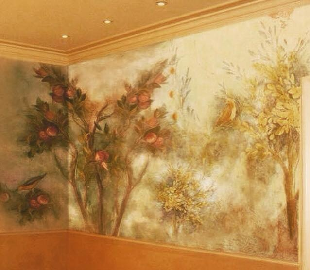 صور رسومات حوائط وورق حائط والوان حوائط جديدة (7)