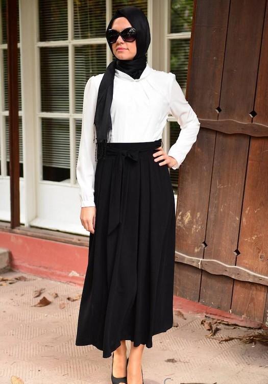 ملابس محجبات موضة 2016 للبنات المحجبات فاشون وازياء جديدة (25)