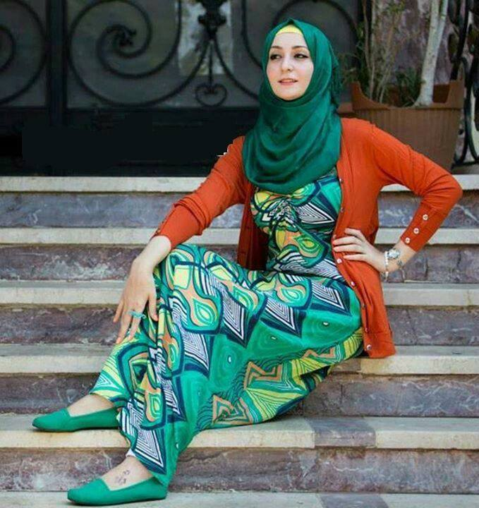 ملابس محجبات موضة 2016 للبنات المحجبات فاشون وازياء جديدة (40)