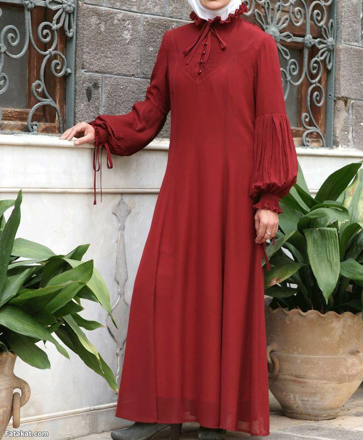 ملابس محجبات موضة 2016 للبنات المحجبات فاشون وازياء جديدة (44)