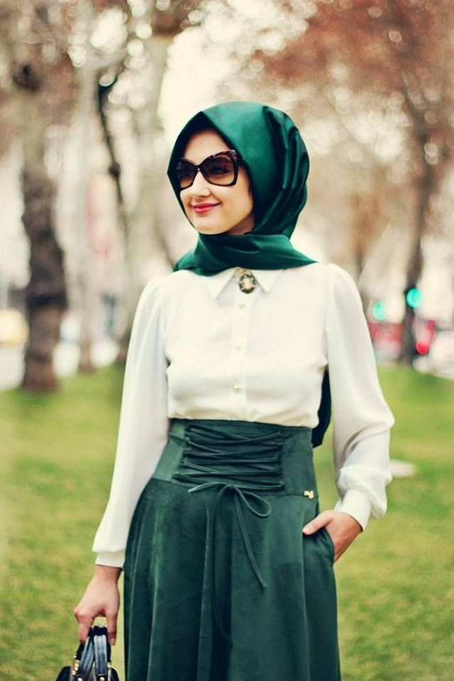 fbdfe3cbb ... ملابس محجبات موضة 2016 للبنات المحجبات فاشون وازياء جديدة (64) ...