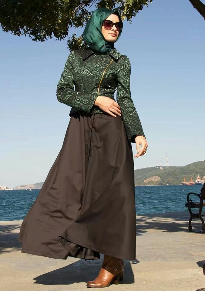 ملابس محجبات موضة 2016 للبنات المحجبات فاشون وازياء جديدة (72)