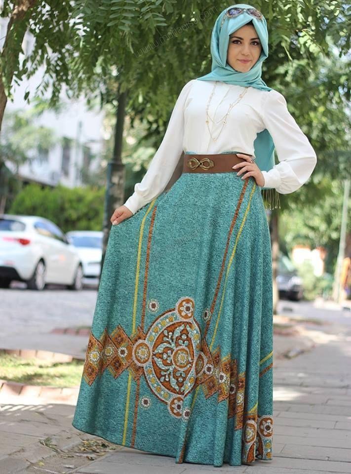 aed158f4b ... ملابس محجبات موضة 2016 للبنات المحجبات فاشون وازياء جديدة (92) ...