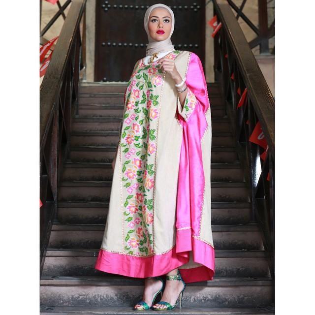 صور احدث موضة ازياء المحجبات لبس محجبات تركي مودرن (11)