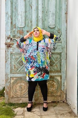 صور احدث موضة ازياء المحجبات لبس محجبات تركي مودرن (16)