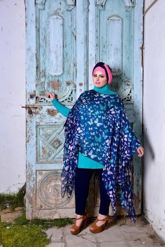 صور احدث موضة ازياء المحجبات لبس محجبات تركي مودرن (18)