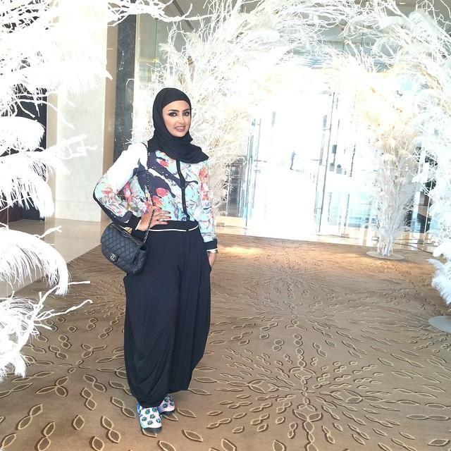 صور احدث موضة ازياء المحجبات لبس محجبات تركي مودرن (24)