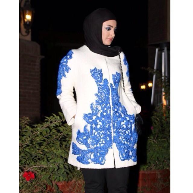 صور احدث موضة ازياء المحجبات لبس محجبات تركي مودرن (26)