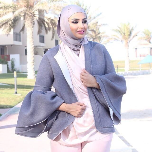 صور احدث موضة ازياء المحجبات لبس محجبات تركي مودرن (28)