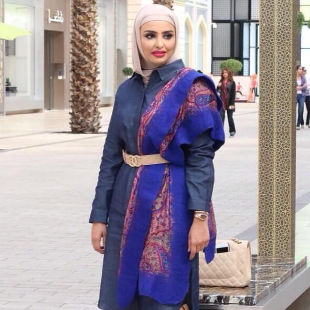 صور احدث موضة ازياء المحجبات لبس محجبات تركي مودرن (31)