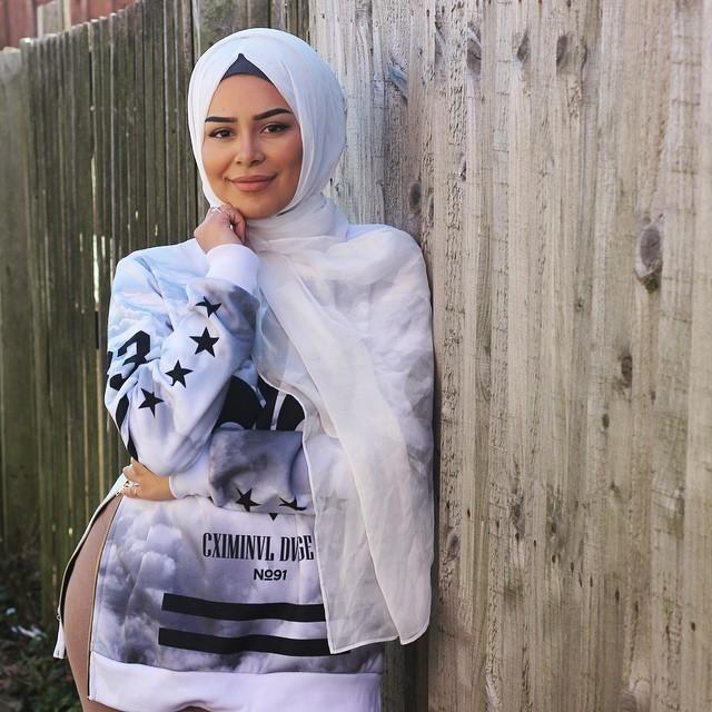 صور احدث موضة ازياء المحجبات لبس محجبات تركي مودرن (33)