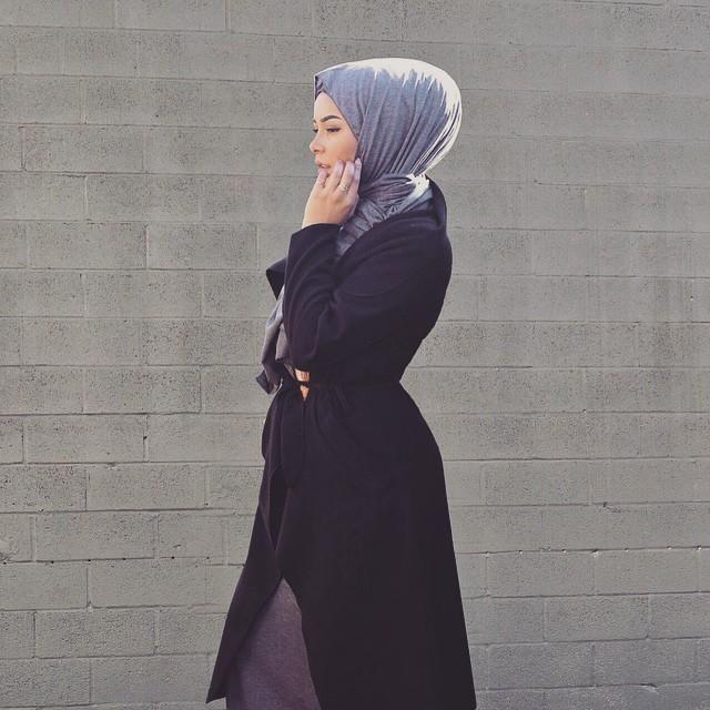صور احدث موضة ازياء المحجبات لبس محجبات تركي مودرن (39)