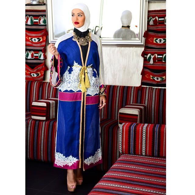 صور احدث موضة ازياء المحجبات لبس محجبات تركي مودرن (4)