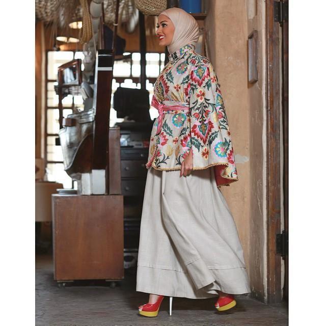 صور احدث موضة ازياء المحجبات لبس محجبات تركي مودرن (9)