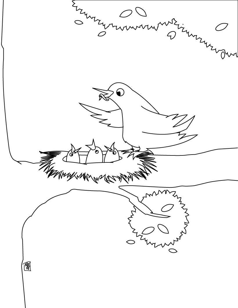 صور رسومات للتلوين للأطفال تلوين رسم اطفال (18)