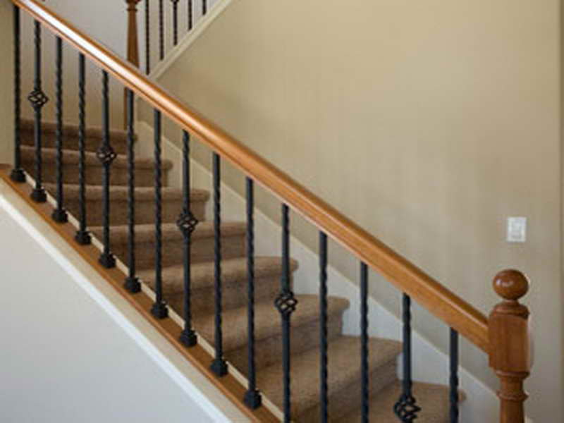 - Interior stair railing contractors ...