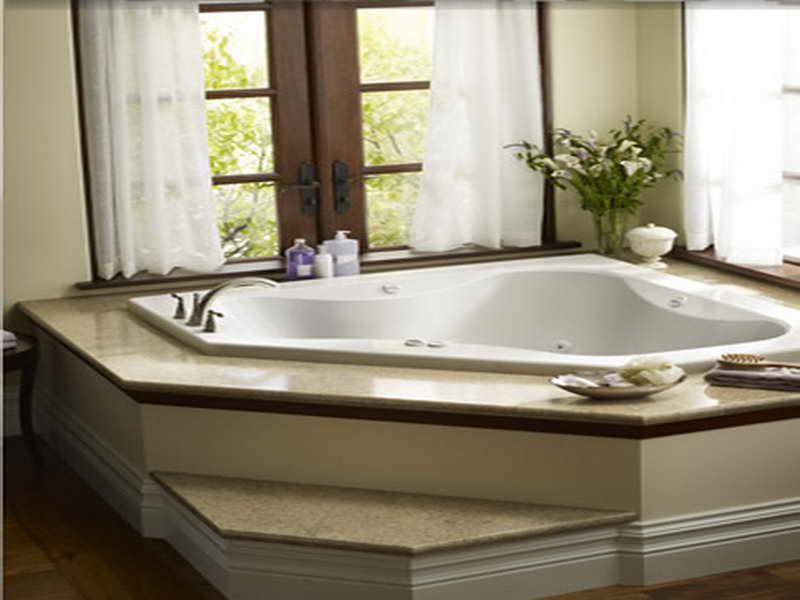 صور واشكال حمامات جاكوزي للشقق والفلل (1)