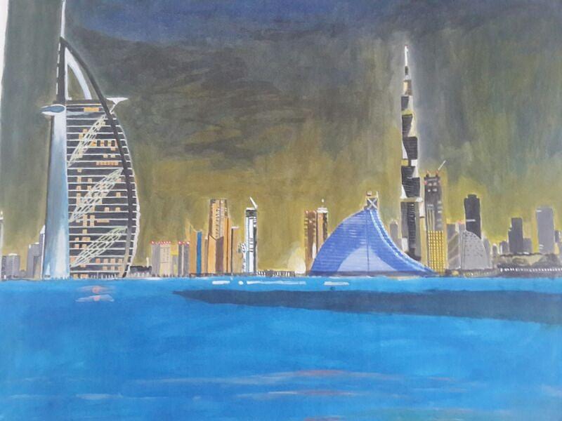 صور برج خليفة خلفيات ورمزيات برج خليفة HD (13)