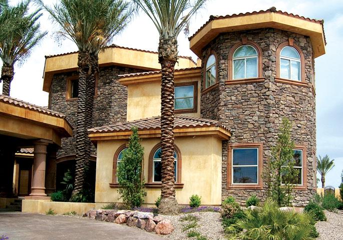 تصاميم فلل ومنازل من الخارج 2016 تصميمات بيوت مودرن (11)