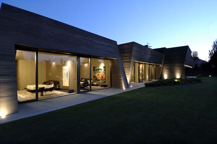 تصاميم فلل ومنازل من الخارج 2016 تصميمات بيوت مودرن (12)