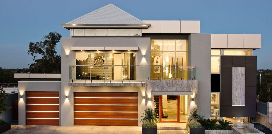 تصاميم فلل ومنازل من الخارج 2016 تصميمات بيوت مودرن (17)