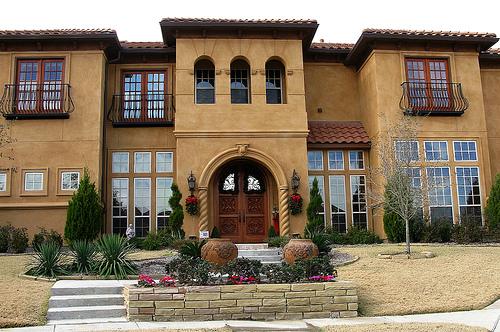 تصاميم فلل ومنازل من الخارج 2016 تصميمات بيوت مودرن (21)