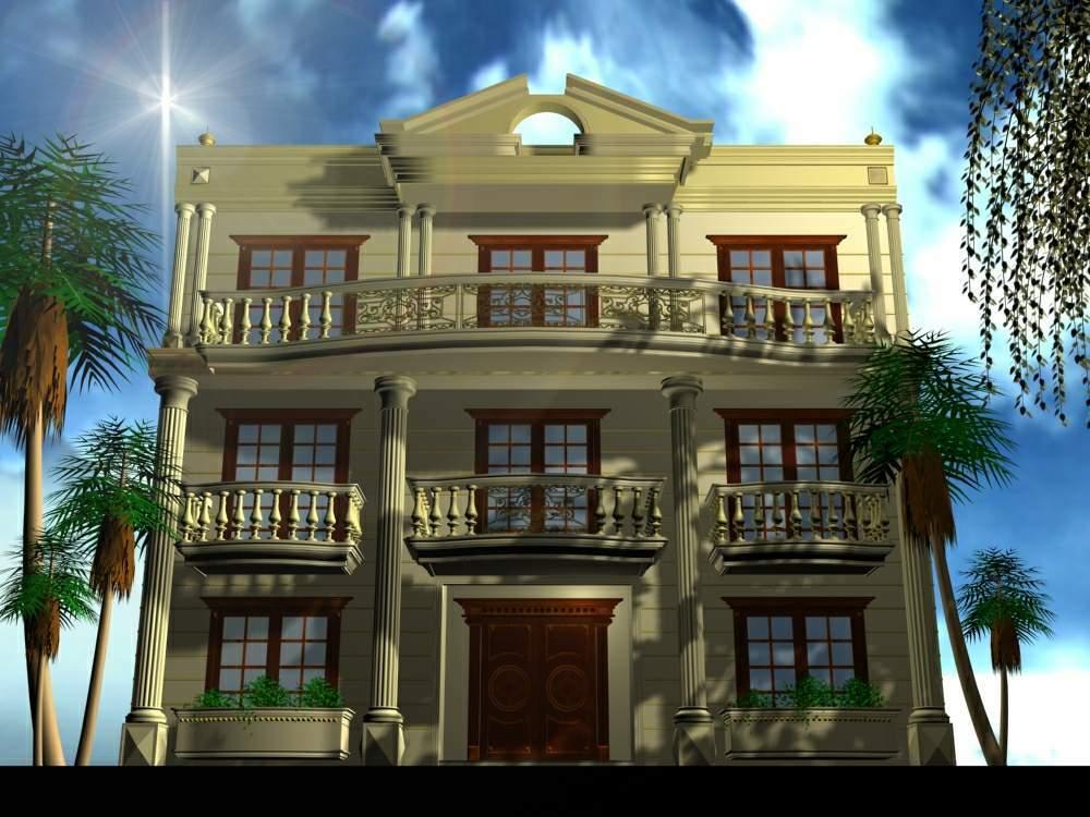 تصاميم فلل ومنازل من الخارج 2016 تصميمات بيوت مودرن (22)
