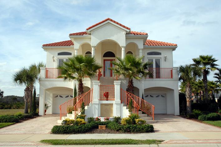 تصاميم فلل ومنازل من الخارج 2016 تصميمات بيوت مودرن (5)