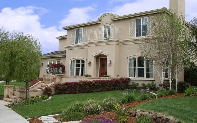 تصاميم فلل ومنازل من الخارج 2016 تصميمات بيوت مودرن (6)