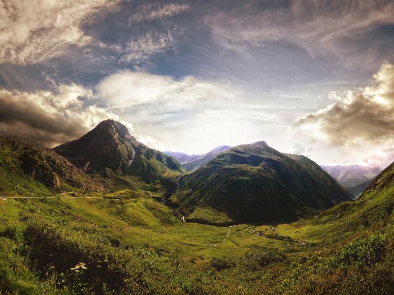صور خلفيات جبال HD احلي صور الجبال (10)