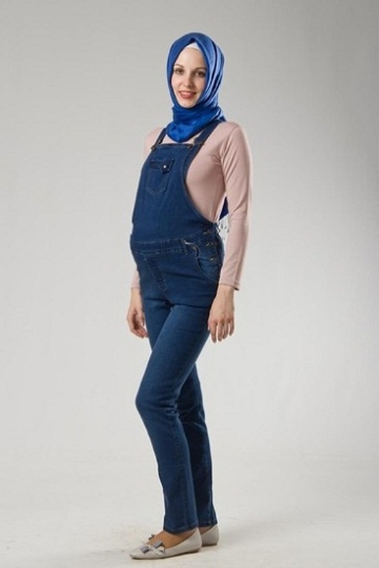 صور ملابس حوامل مودرن محجبات 2016  (15)