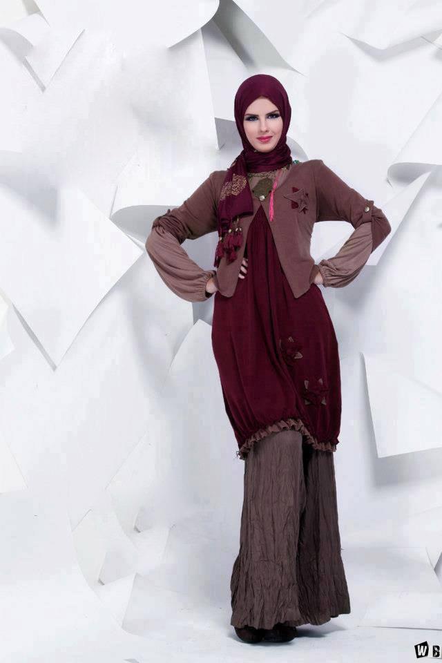 صور ملابس حوامل مودرن محجبات 2016  (20)