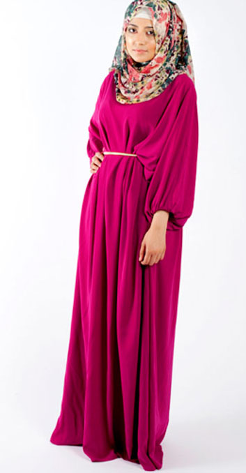 صور ملابس حوامل مودرن محجبات 2016  (3)