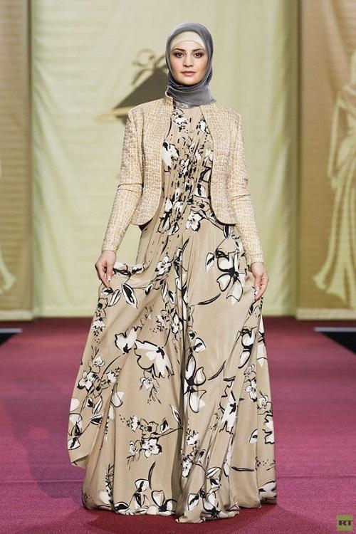 صور ملابس حوامل مودرن محجبات 2016  (5)