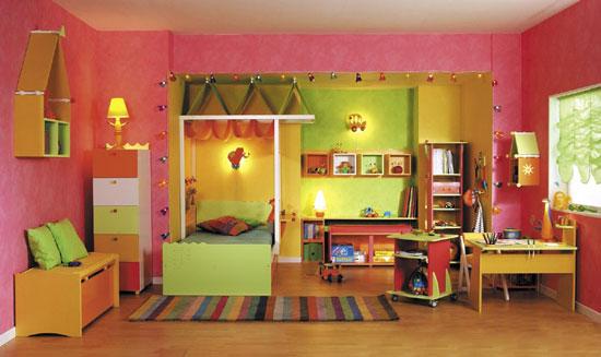 صور الوان غرف نوم اطفال مودرن 2016 (1)