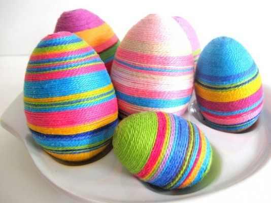 صور بيض ملون لشم النسيم طريقة تلوين البيض (13)